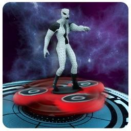 Fidget Spinner Hover Board: Mutant Rider