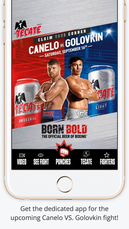 Tecate Bold Punch screenshot-0