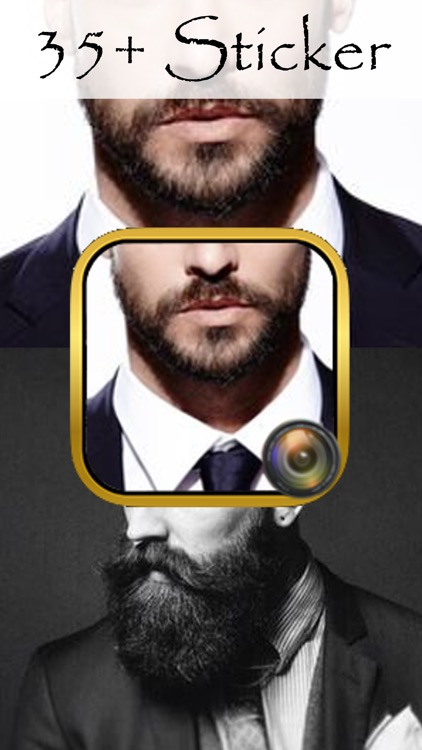 Live Beard Booth Photo Maker: Salon Edition