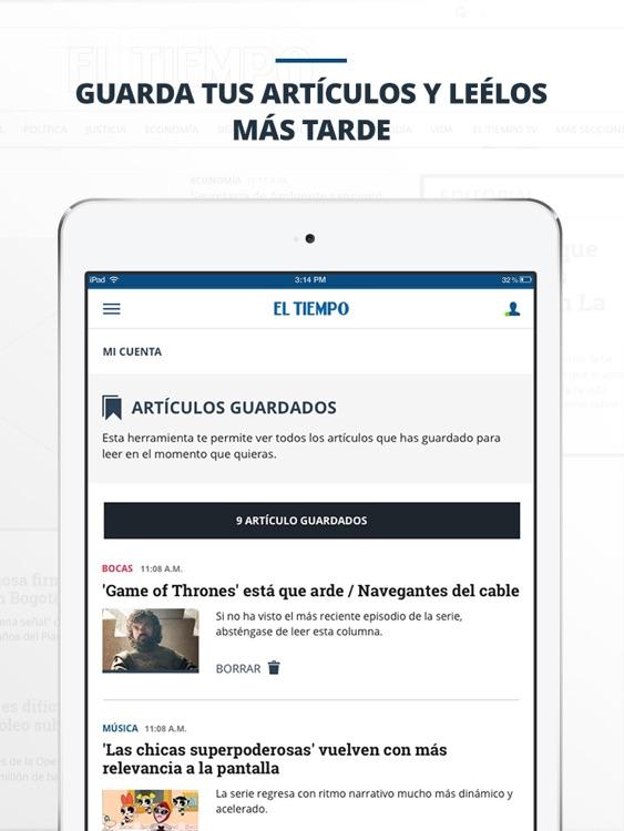 periódico EL TIEMPO