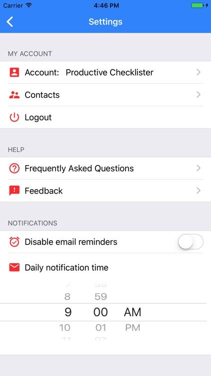 Checklist: To Do & Task Lists screenshot-4