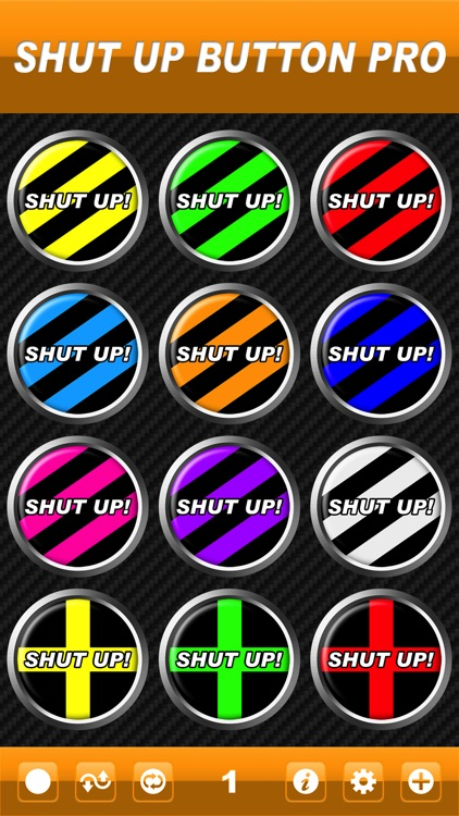 Shut Up Button Pro screenshot-0