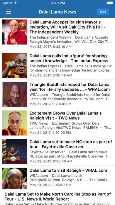 Buddhism News & Buddha Radio - Buddhist Updates screenshot three