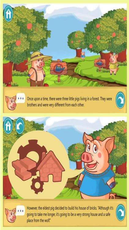 Three little pigs tale PRO