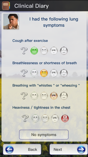AllergyMonitor Screenshot