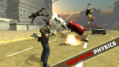 Zombie Street Fighter: Urban Assault screenshot two