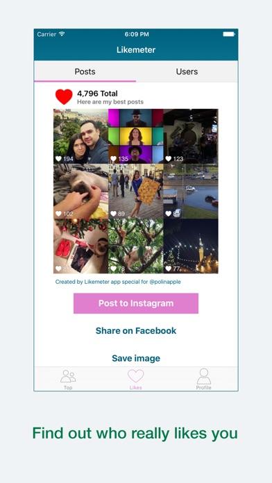 Likemeter screenshot three