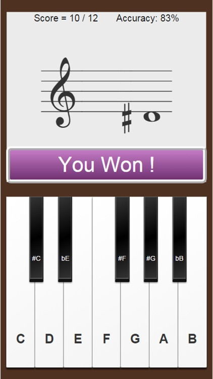 Music Notes - Sight Reading Trainer
