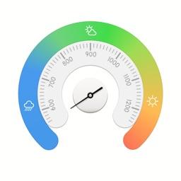 Altimeter - Real Time Barometer & Weather Live