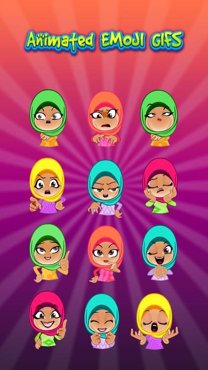 Aliya Hijab & Muslim Stickers screenshot-3