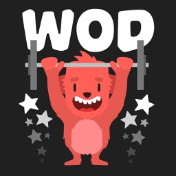 Wodimal - Animated Fitness Stickers