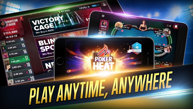 Poker Heat: Texas Holdem Poker Game - VIP League screenshot-4