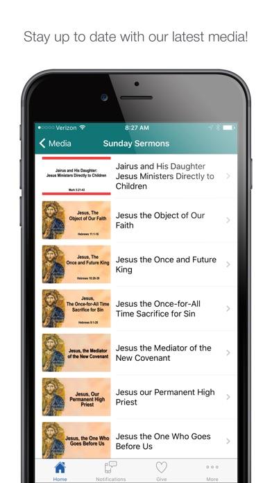 Screenshot of KenwoodBaptist Ohio App