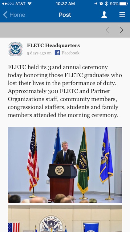 FLETC Mobile App screenshot-3