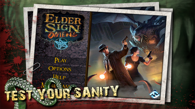 Elder Sign: Omens for iPhone Screenshot