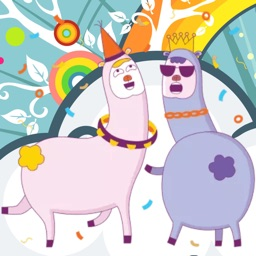 Drama Llama! Stickers