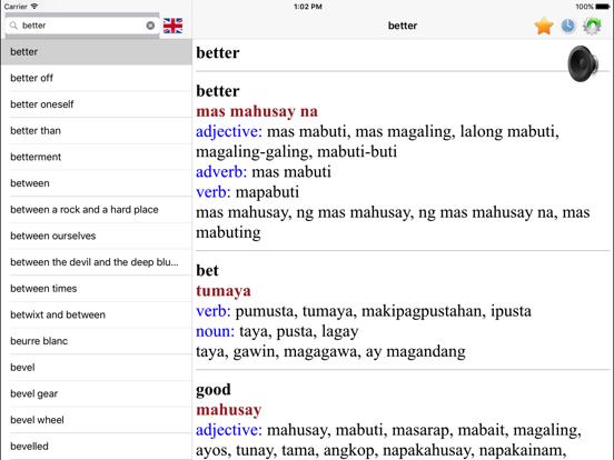 English Filipino best dictionary translator | App Price Drops
