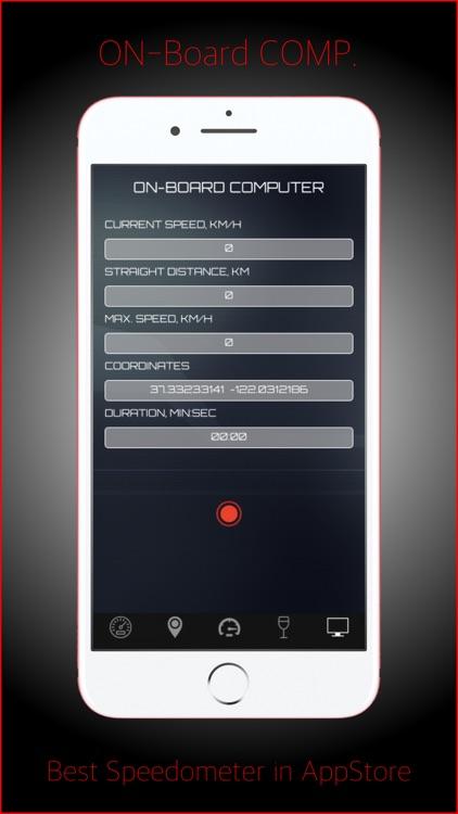 Speedometer-GPS Tracker screenshot-4