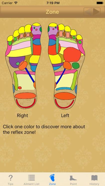 Foot reflexology: home remedy for chronic diseases screenshot-3