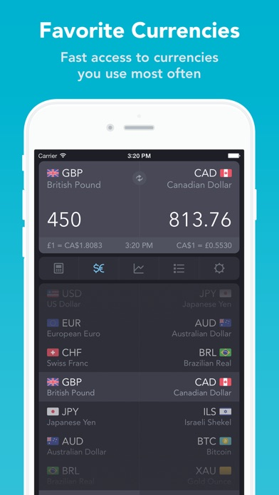 iCurrency Pad  ~  The Currency Exchange Rates Converter Screenshot 2