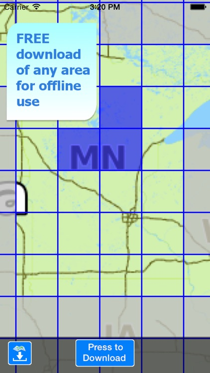 Aqua Map Minnesota MN Lakes - GPS Nautical Charts screenshot-4