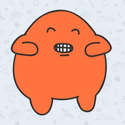 Happy Mascot Happy Time