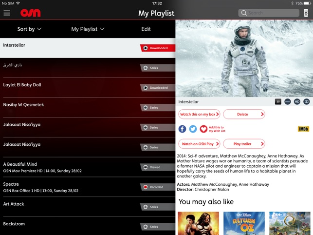 OSN on the App Store