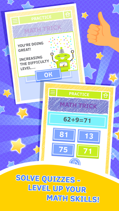 Math Master. Educational math games