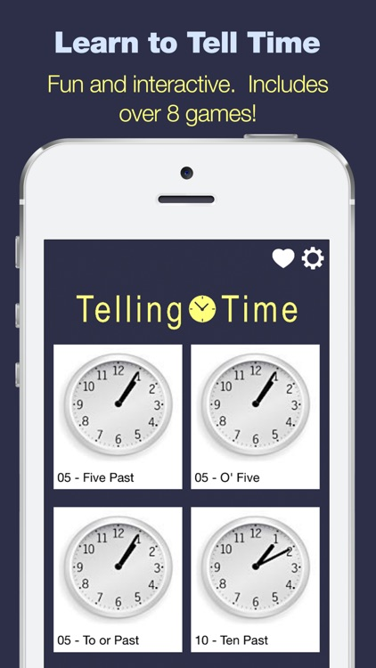 Telling Time - 8 Games to Tell Time