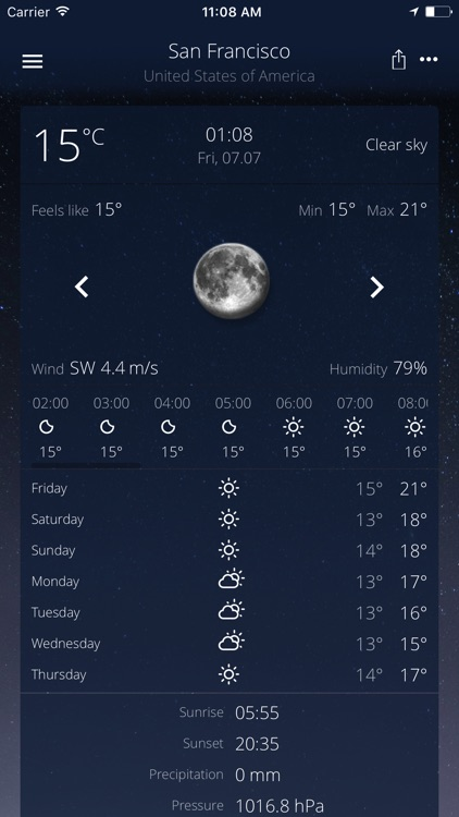 The Real Weather screenshot-3