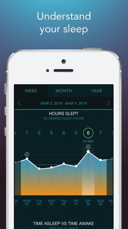Sleep Science HQ: 750 sound alarm clock & tracker screenshot-3