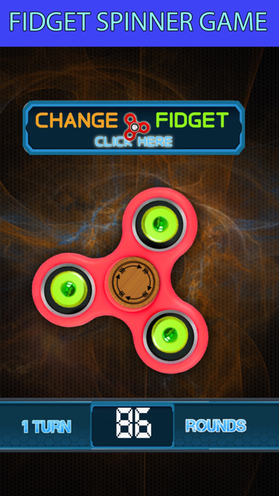 Fidget spinner simulator fun screenshot one