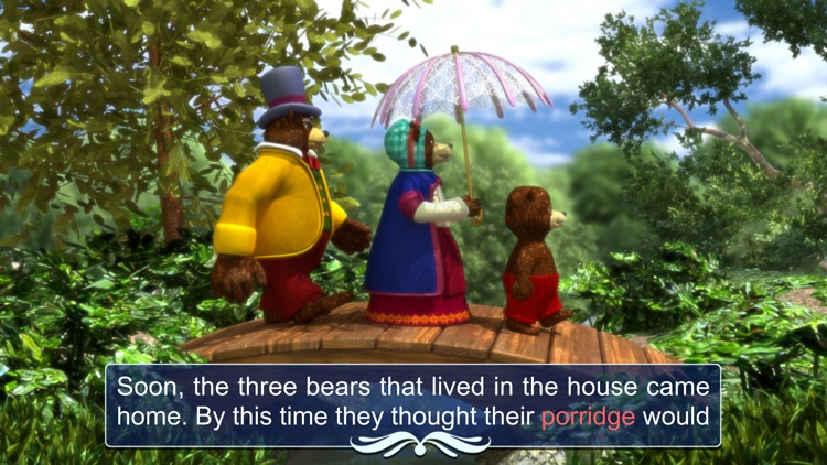 Goldilocks and the three bears - Book & Games