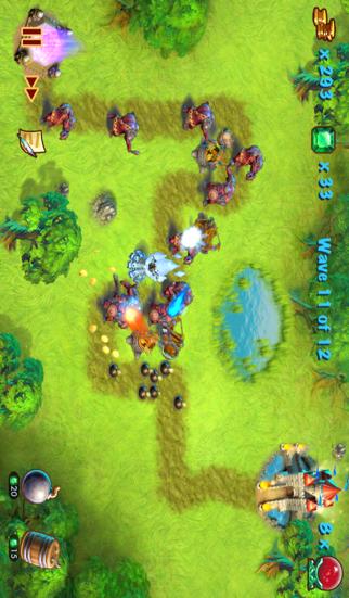 Towers N' Trolls HD Screenshot 1