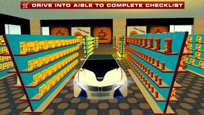 Supermarket Drive Through 3D – Shop in Car Sim screenshot three