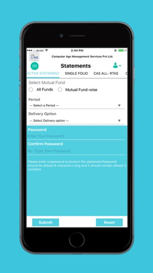 myCAMS Mutual Fund App on the App Store