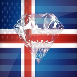Icelandic Phrases Diamond 4K Edition