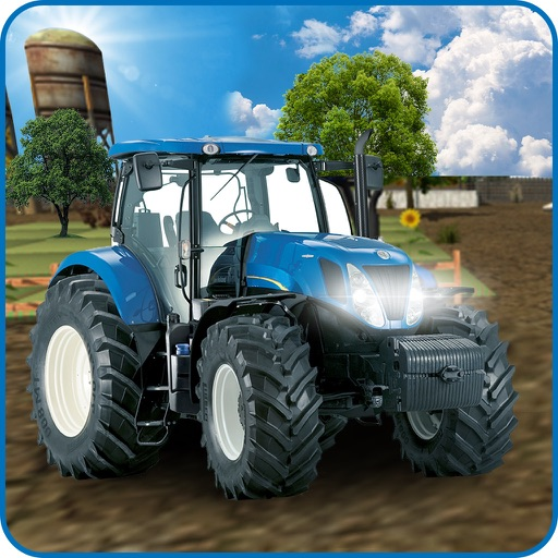 Real Farm Tractor Parking