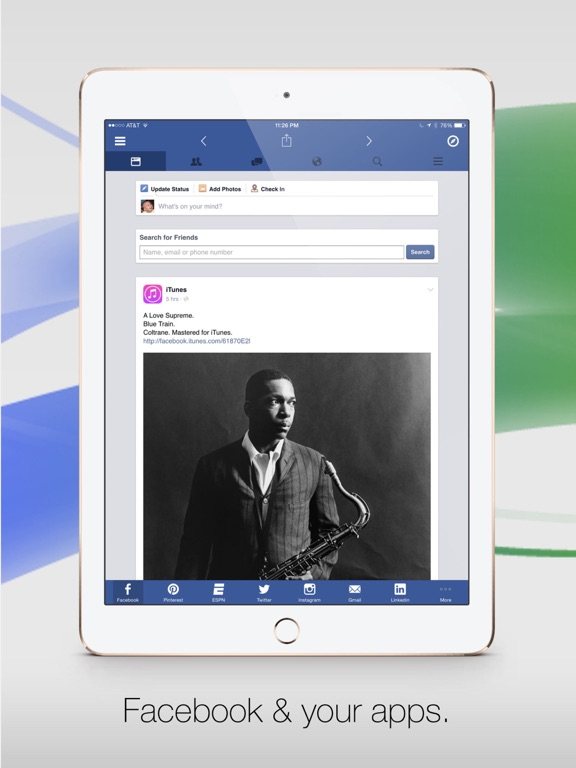 Facely HD for Facebook + Social Apps-ipad-0