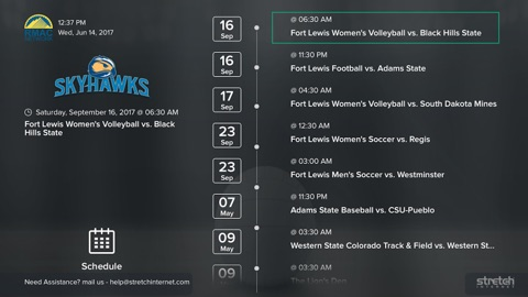 Screenshot #3 for RMAC Network