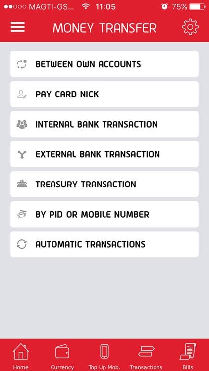 Liberty Bank, Mobile Banking