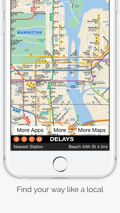 Basic Nyc Subway Map App.New York City Subway Map Apprecs