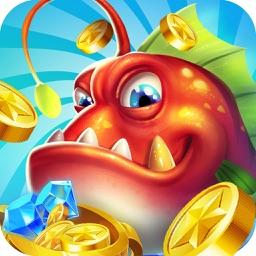 超级大富翁电玩捕鱼 - 全民多人联网捕鱼游戏
