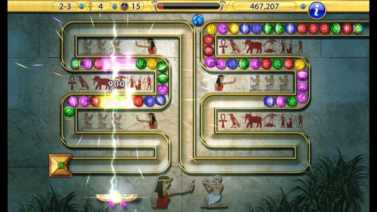 Luxor:  Amun Rising HD screenshot-0
