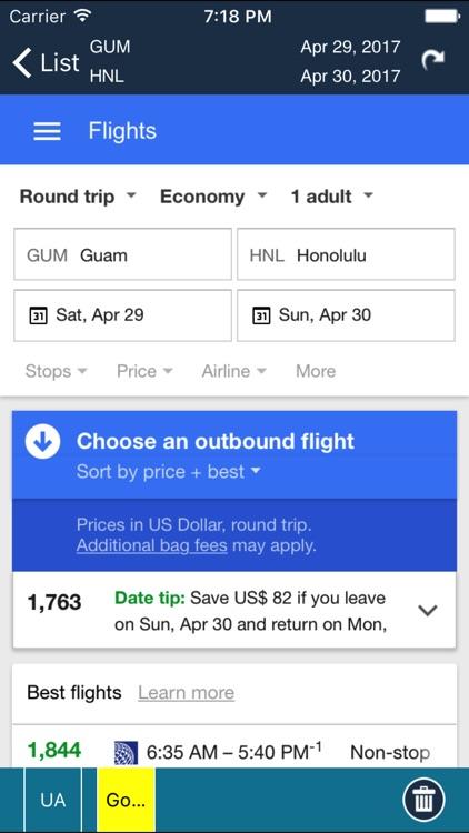 Honolulu Airport Info + Flight Tracker HNL screenshot-3