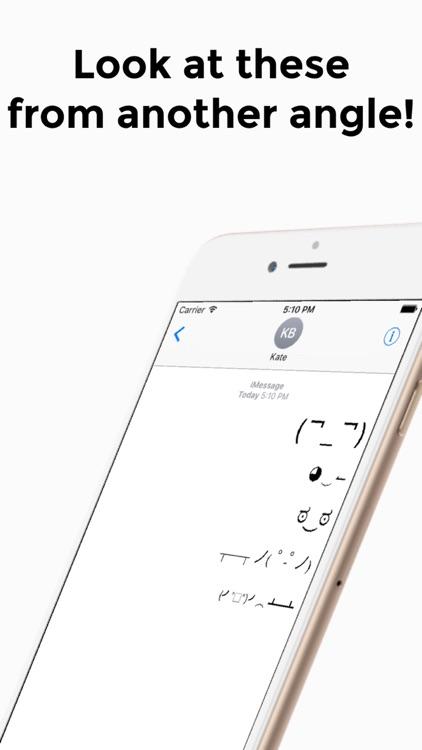 Unicode Faces screenshot-4