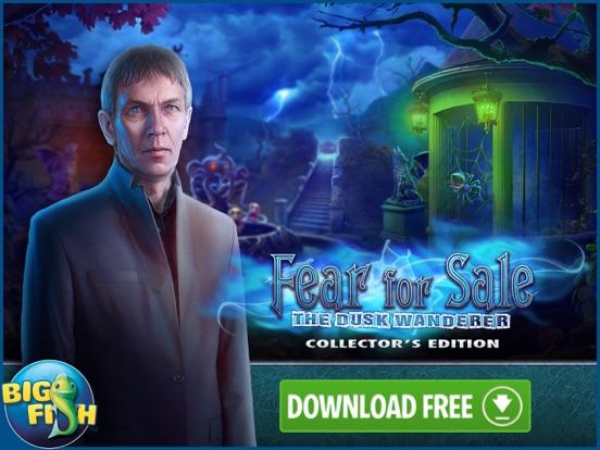 Fear for Sale: The Dusk Wanderer - Hidden Objects screenshot 10