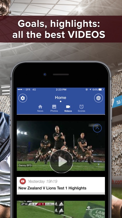 Rugby Addict : news, highlights, videos, results screenshot-3