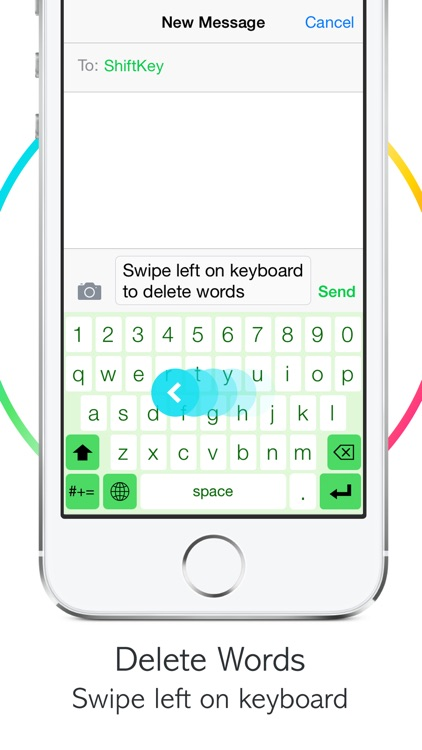 ShiftKey Keyboard screenshot-3
