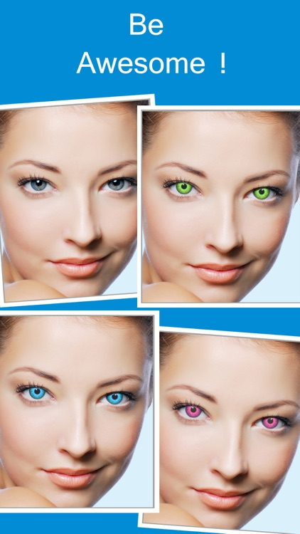 Eye Color Changer Makeup - Red Eye Remover Editor